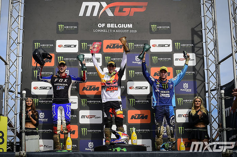 MX2 PODIUM MOTOCROSS GP 14 B 2019