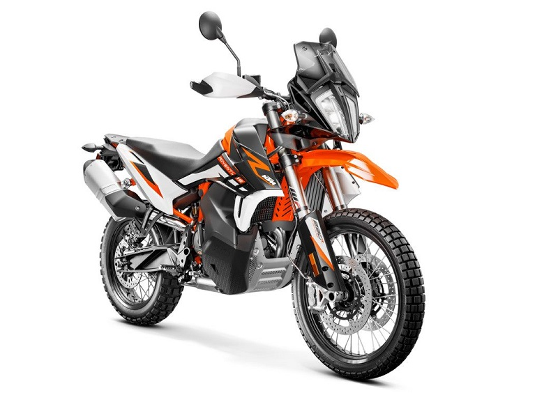 KTM 890 ADVENTURE R Studio front right