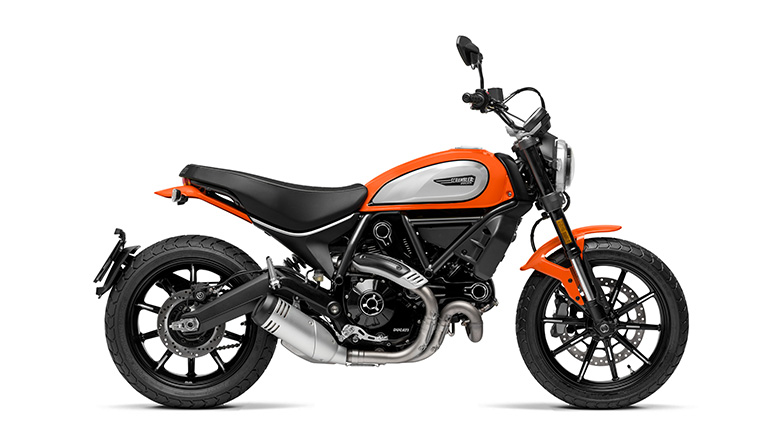 Scrambler Icon Orange nutra