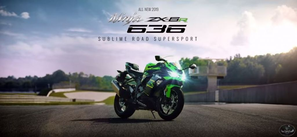 Kawasaki Ninja ZX-6R 636 2019 all new First look