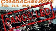 Otkazan je Croatia Bike Week u Puli
