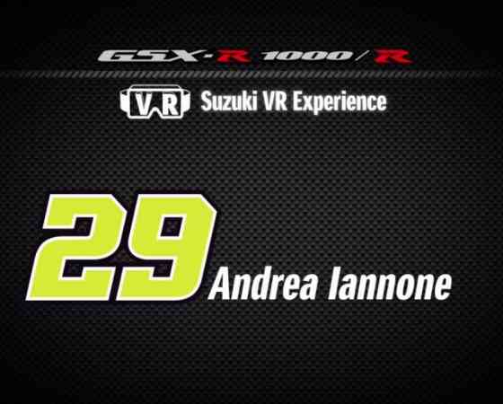 "Andrea Iannone x VR | The making of new ""Suzuki VR Experience"""