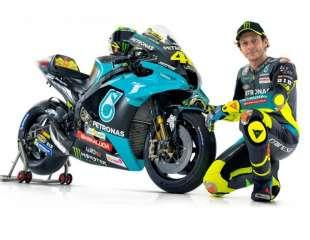Rossi prvi put u bojama Petronas Yamahe